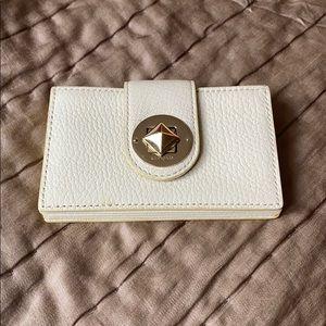 kate spade cream card case